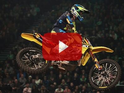 Video: SR75 World Team Suzuki aiming to defend Arenacross titles