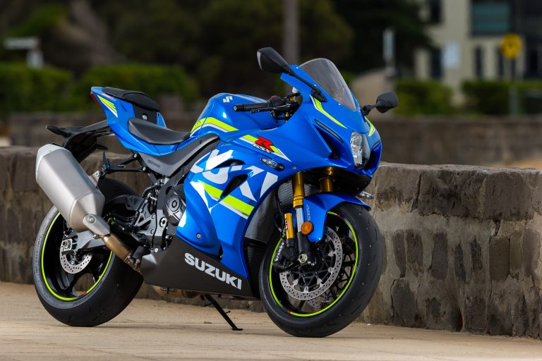Suzuki's national bike café test ride tour hits Llandow circuit