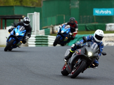 Suzuki dealers get taste of new GSX-R1000 at Mallory Park product training event
