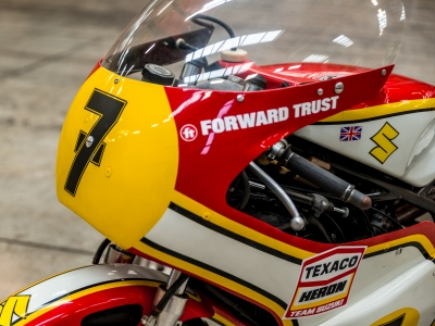Barry Sheene's restored XR14 to be ridden by son Freddie at Oliver's Mount