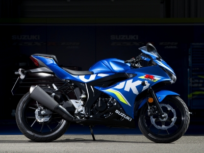 Suzuki proud to be sole manufacturer fitting MASTER security kits to 125cc machines
