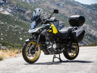 Free accessories worth £750 across Suzuki V-Strom range