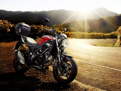 Go further with free fuel and top box on SV650