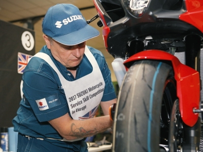 Suzuki GB master technician awarded runner-up spot in European competition