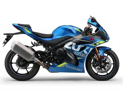 New MotoGP replica GSX-R1000 unveiled by Suzuki