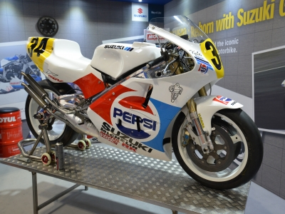 RGV500 restoration voted best manufacturer feature at Motorcycle Live
