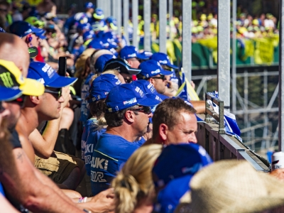 Suzuki grandstand returns as firm gears up for British Grand Prix