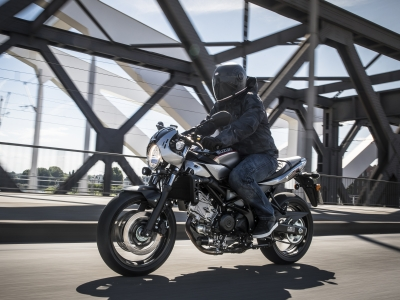 New SV650X wins AutoTrader Best Middleweight award