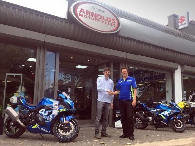 Arnolds Motorcycles Leicester takes on Suzuki franchise