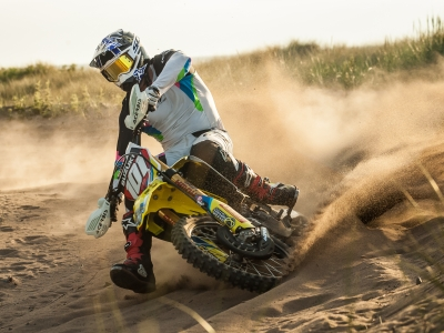 Suzuki to take on the Weston Beach Race on two and four wheels