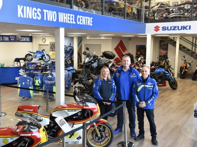 Suzuki dealerships collect half of MCN Dealer of the Year awards