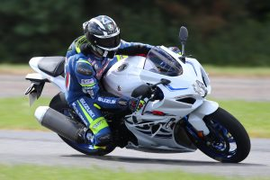 Suzuki Test day Bruntingthorpe
