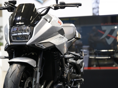 Suzuki Katana set to take centre stage at Motorcycle Live