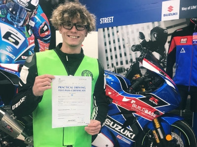 British Superbike ace Bradley Ray passes motorcycle test on SV650