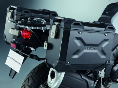 Be adventurous this year with free luggage on Suzuki's V-Strom range