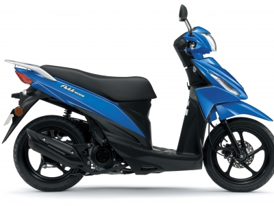 Suzuki offers pound-saving practical scootering