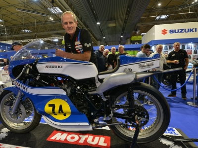 Suzuki voted best manufacturer feature at Motorcycle Live for second year in a row