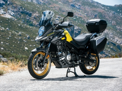 Get £500 free accessories with new V-Strom 1000 and V-Strom 650 models