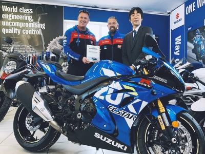 Powerslide Motorcycles recognised by Suzuki as top-selling GSX-R dealership in Europe