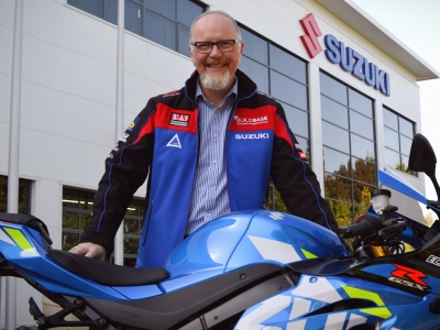 Ian Bland joins Suzuki GB as National Motorcycle Marketing Manager