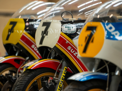 Suzuki to restore more Sheene bikes at Motorcycle Live