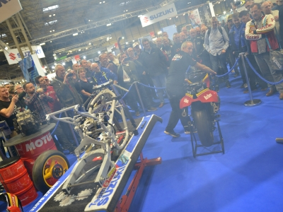 Suzuki releases video of Sheene bike restoration