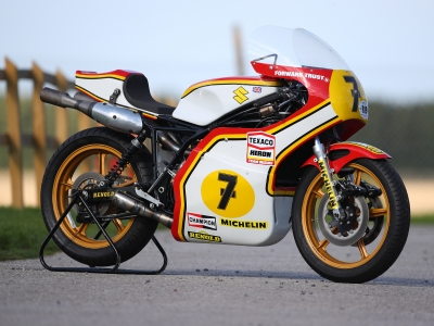 Suzuki set to bring Barry Sheene Classic to life with huge display and demo rides