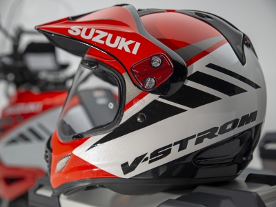 Test ride new V-Strom 1050 for chance to win Arai Tour-X4 helmet
