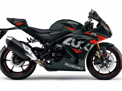 Black and orange GSX-R1000R joins 2021 Suzuki range
