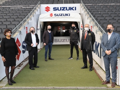 Suzuki extends sponsorship deal with MK Dons Football Club
