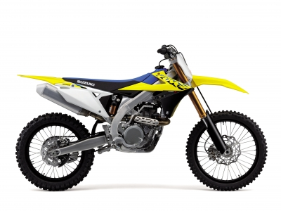 Pricing announced for Suzuki 2021 motocross range