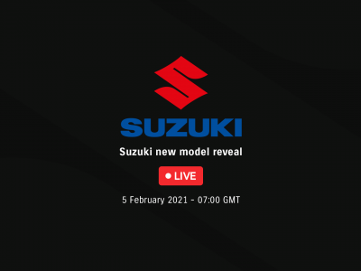 Watch Suzuki's new model reveal live