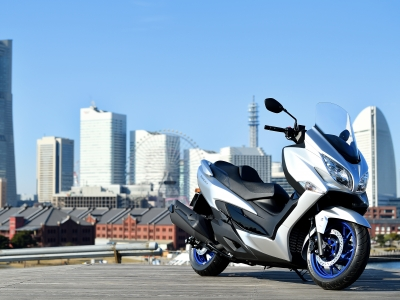 Suzuki announces updated Burgman 400