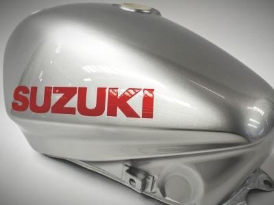 Brand new Katana fuel tanks now in stock on Suzuki Vintage Parts Programme