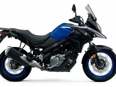 Suzuki releases new colours for V-Strom 650 range